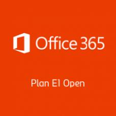 Office 365 Plan E1 Open